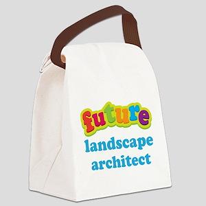 Future Landscape Architect Canvas Lunch Bag