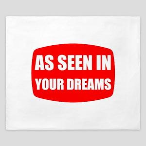 As Seen In Dreams King Duvet