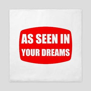 As Seen In Dreams Queen Duvet