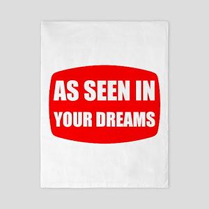 As Seen In Dreams Twin Duvet