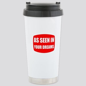 As Seen In Dreams Travel Mug