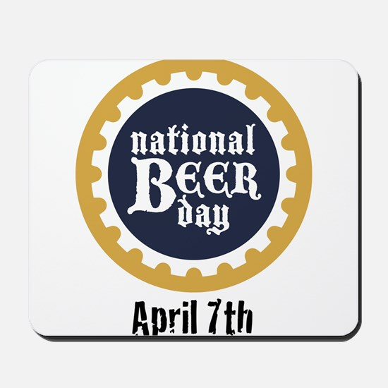 National Beer Day Mousepad