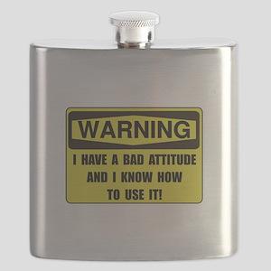 Attitude Warning Flask