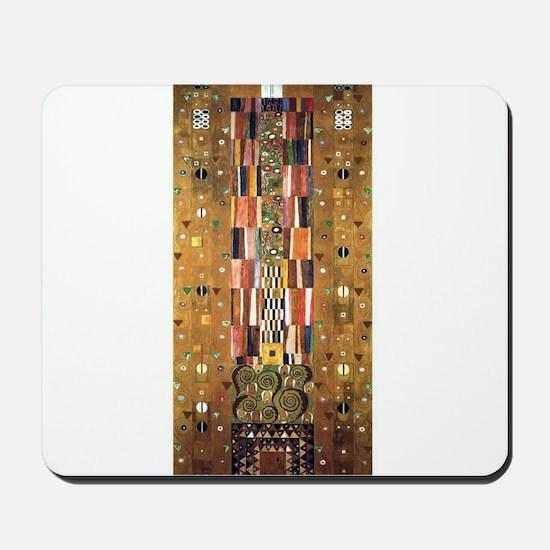 Gustav Klimt End of the Wall Mousepad