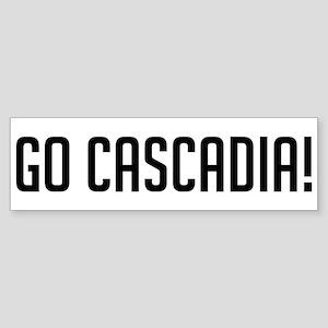 Go Cascadia Bumper Sticker