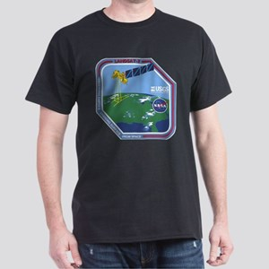 Landsat 7 Program Logo Dark T-Shirt