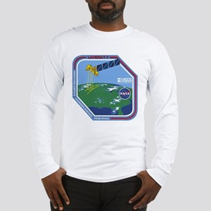 Landsat 7 Program Logo Long Sleeve T-Shirt