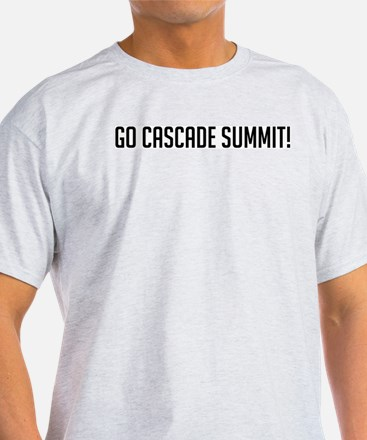 Go Cascade Summit Ash Grey T-Shirt