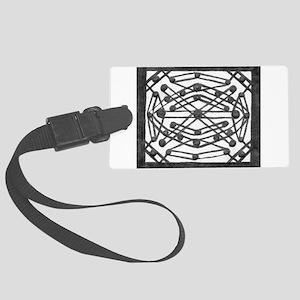 Symmetrical Box Art Print Luggage Tag
