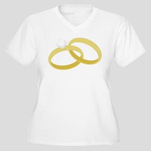 Wedding Ring Plus Size T-Shirt
