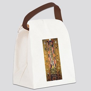 Gustav Klimt End of the Wall Canvas Lunch Bag