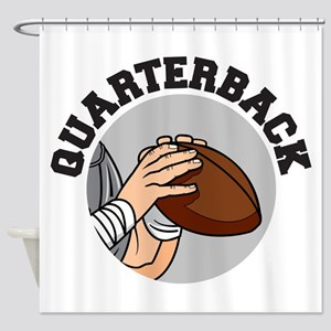 football quarterback vector graphic design Sho