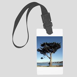 Twisty California Tree Print Luggage Tag