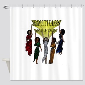 Jephthas Daughters Shower Curtain