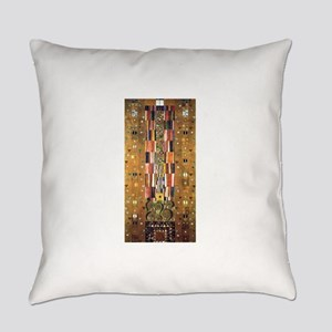 Gustav Klimt End of the Wall Everyday Pillow