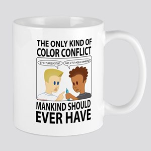 The Only Kind of Color Conflict Mankind Should Eve