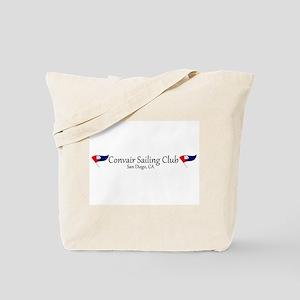 Convair Sailing Club License Plate Frame Tote Bag