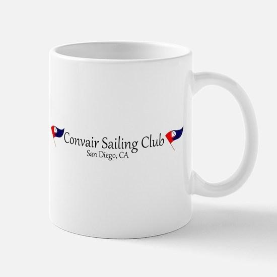 Convair Sailing Club License Plate Frame Mug