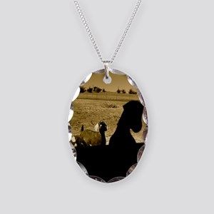 Mystery Goat Theater Necklace
