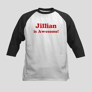 Jillian is Awesome Kids Baseball Jersey