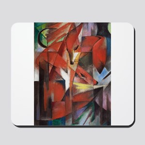 Franz Marc The Foxes Mousepad