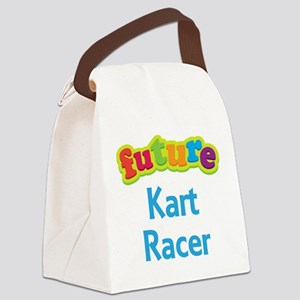 Future Kart Racer Canvas Lunch Bag