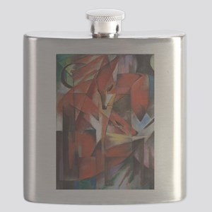 Franz Marc The Foxes Flask