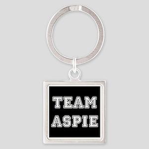 Team Aspie Square Keychain