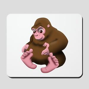 Baby Bigfoot Mousepad