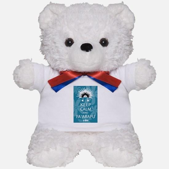 Keep Calm and Fa`arapu Teddy Bear