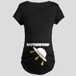 Mother Ship - Maternity Dark T-Shirt