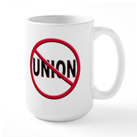 Anti-Union Large Mug