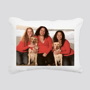 the girls Rectangular Canvas Pillow