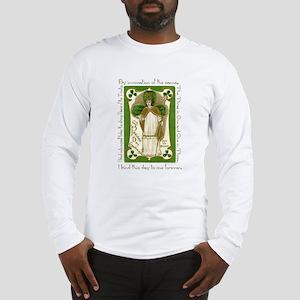 St. Patrick's Breastplate Long Sleeve T-Shirt