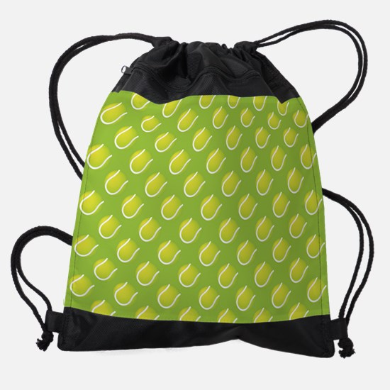 Tennis Balls Drawstring Bag