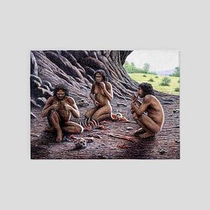 Homo antecessor - 5'x7' Area Rug