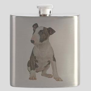 Bull Terrier Flask