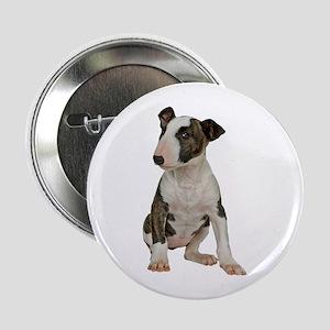 """Bull Terrier 2.25"""" Button"""