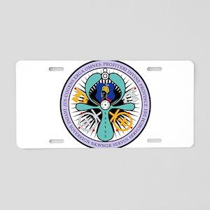 WE ROYAL MOOR Aluminum License Plate