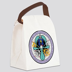 WE ROYAL MOOR Canvas Lunch Bag