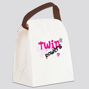 Twin Powers Canvas Lunch Bag