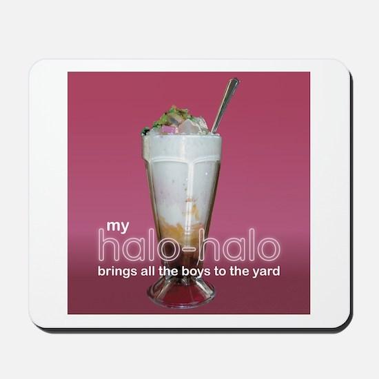 halo-halo -  Mousepad