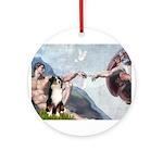 5.5x7.5-Creation-Aussie2.png Ornament (Round)