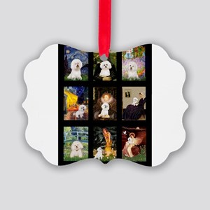 Bichon Masterpieces (A) Picture Ornament