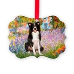 TILE-Garden-M-BordC1 Picture Ornament
