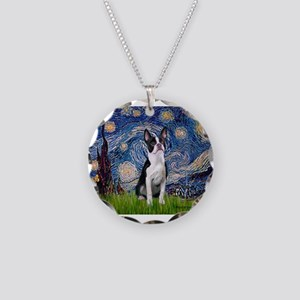 STARRY-Boston2 Necklace Circle Charm