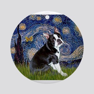5.5x7.5-Starry-Boston4 Ornament (Round)