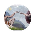 CREATION-Cav2B Ornament (Round)