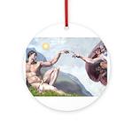 5x7-Creation-ChIH2 Ornament (Round)