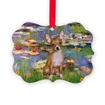 5x7-Lilies2-CHIH2 Picture Ornament